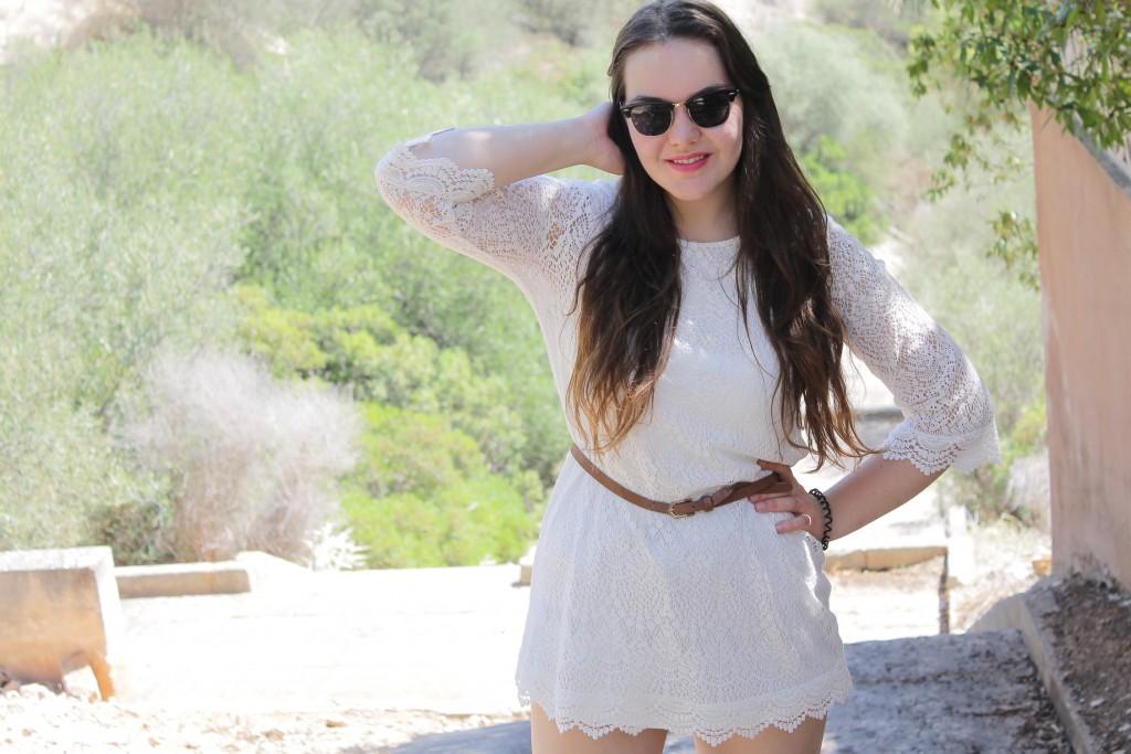 spitzenkleid outfit blog